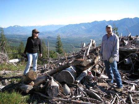 Wood gathering on state trust land