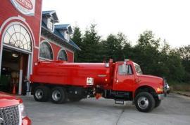 Refurbished water truck