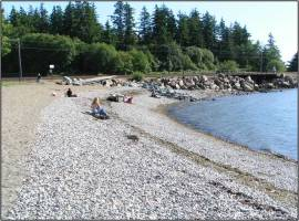 Bellingham Marine Park after