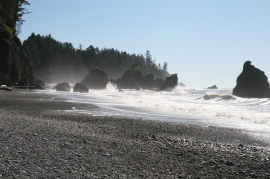 Ruby Beach, located on the Washington Coast. Photo: Jane Chavey/ DNR