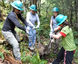 Women in the Woods event May 14, 2011