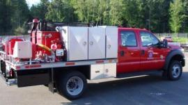 DNR fire engine