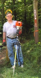 Bob Langley, volunteer.