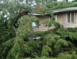 December 2007 storm aftermath