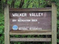 Walker Valley sign
