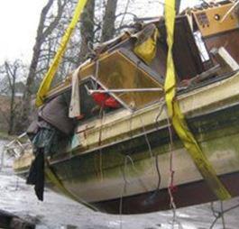 derelict vessel removed