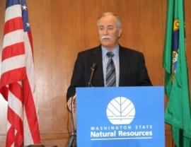 Commissioner of Public Lands Peter Goldmark