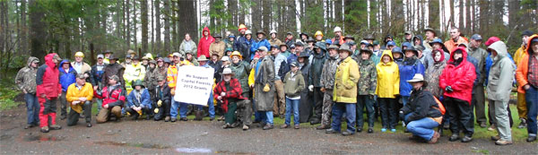 Great Gravel Pack-in 2012 participants