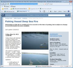 Dept of Ecology web page for info on the Deep Sea