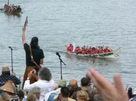 Canoe journey 2012
