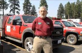 DNR Fire Team Incident Commander Rex Reed