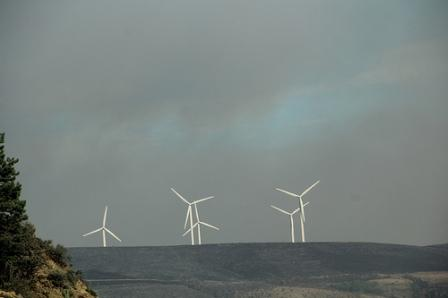 wind turbines-taylor bridge fire