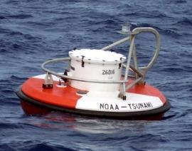 DART® (Deep-ocean Assessment and Reporting of Tsunamis) monitoring buoy