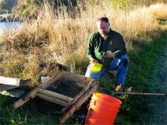 Maurice Major, DNR Aquatics Archaeologist