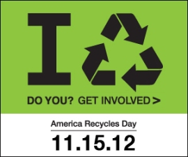 November 15 is America Recycles Day