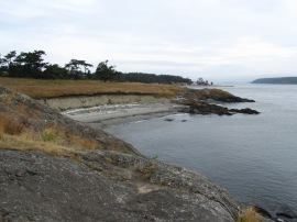 Cattle Point NRCA offers beautiful views of the San Juan Islands. Photo: Paul McFarland, DNR.