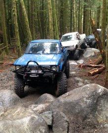 Get your 4×4 ready to go! This weekend there is a test ride at Reiter Foothills. Photo: David Way, DNR.