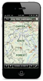 The new Capitol State Forest Map is now geo-referenced, making it ideal to download onto your smartphone. Photo: Diana Lofflin, DNR.
