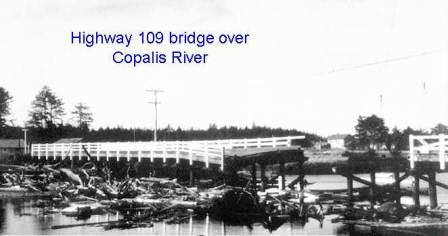 Copalis River bridge