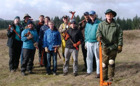 Mima Mounds NAP Volunteers