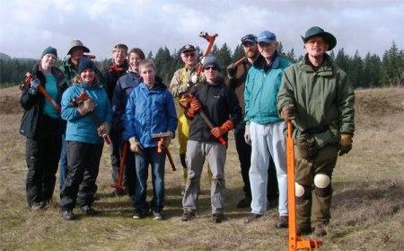Mima Mounds NAP Volunteers