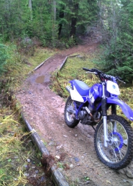 Help fix trails this weekend in Little Pend Orielle. Photo: Kyle Pomrankey