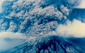 Mount St Helens, May 18, 1980.
