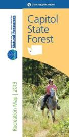 Front of Capitol State Forest Map