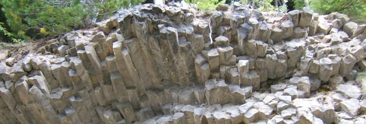 columnar dacite