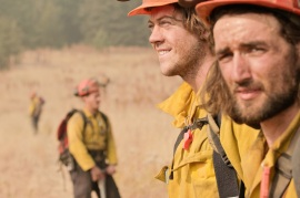 Firefighters keep a close eye on prescribed burns. Photo: Kent Romney