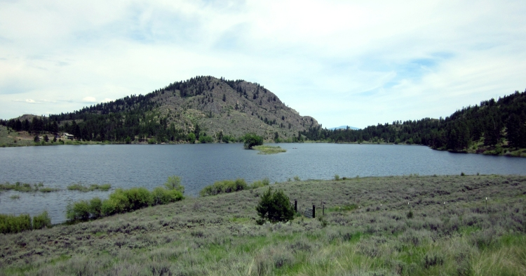Leader Lake Campground, Loup Loup State Forest, Okanogan County