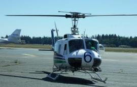 The newest DNR helicopter