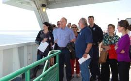 geo hazards tour of Puget Sound