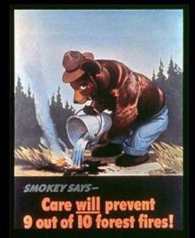 Smokey Bear's message is timeless.
