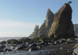 Photo of Rialto Beach. Photo: Katrina Lassiter/DNR