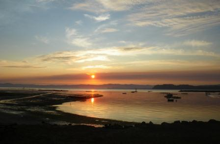 Willapa Bay sunrise