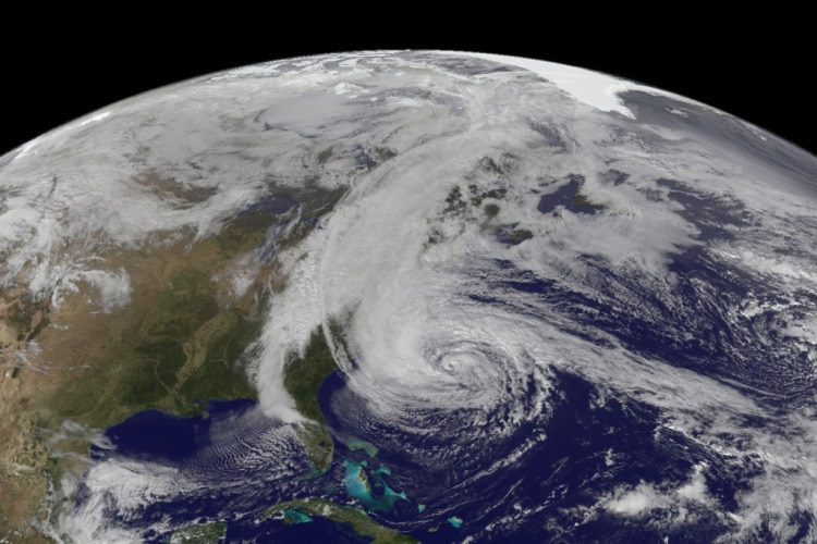 Hurricane Sandy. Image: NASA