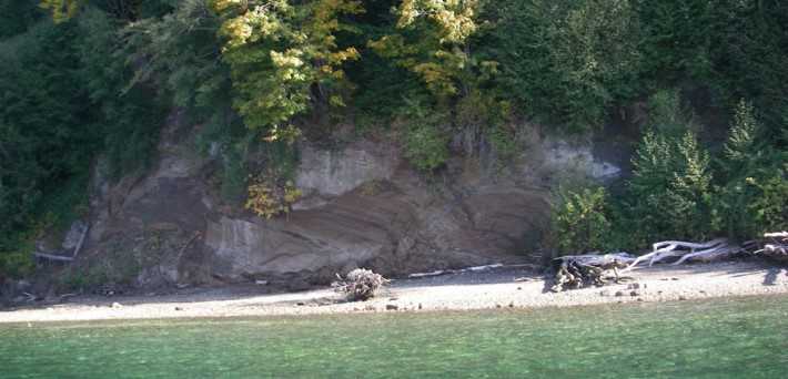 Dabob Bay outcrop