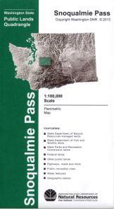 Snoqualmie Quad Map cover