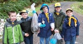 boy scout volunteers