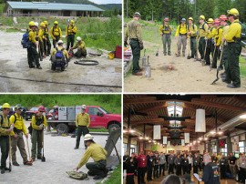 Every year, DNR trains firefighters before wildfire season heats up.
