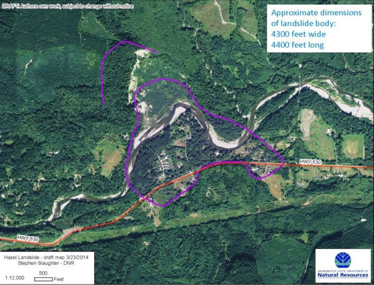OSO-Hazel landslide