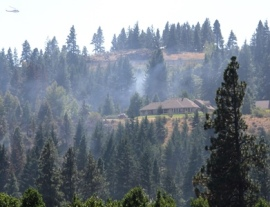 Defensible space is important, especially if you live in wildfire country. PHOTO: Jessica Payne
