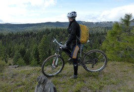 Mountain biking is just one of the recreation uses at the Teanaway Community Forest.
