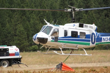 DNR Helitack crews are ready for wildfire season after training in Cle Elum last week. Photo: Janet Pearce