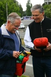 Governor Jay Inslee and Commissioner of Public Lands, Peter Gold