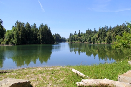 Woodard Bay NRCA will be closed July through December 2014 for construction efforts. Photo by: DNR/Jessica Payne