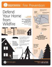 Important tips to save your home from wildfire