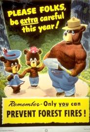 Happy 70th Birthday Smokey Bear