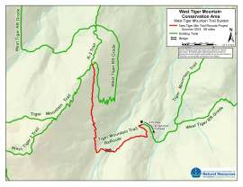Tiger Mountain trail re-route